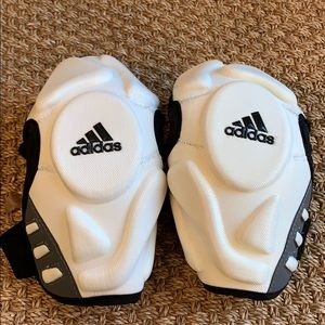 ADIDAS 111 Arm/Elbow Pad Lacrosse WHITE